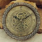 Large Killyliss Celtic Wall Clock